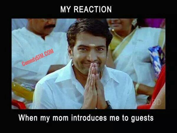 my reaction santhanam comedysim